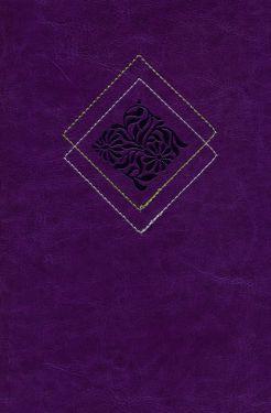 Our Daily Bread Devotional Bible NLT (Purple)