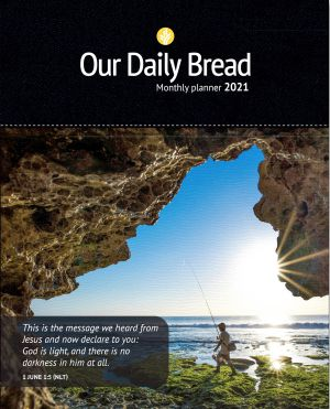 Our Daily Bread Monthly Planner 2021