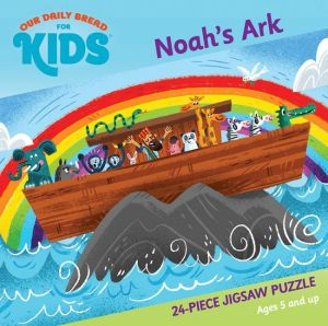 Our Daily Bread for Kids: Noah's Ark 24-piece Jigsaw Puzzle